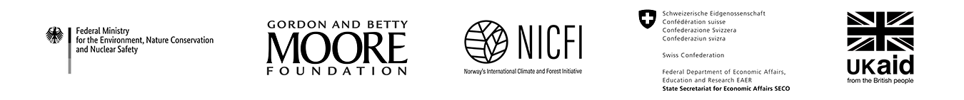 logos of the donors to the Accountability Framework initiative